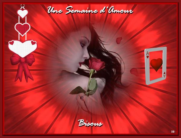 Une Semaine d'Amour - Bisous : kdo pour vous