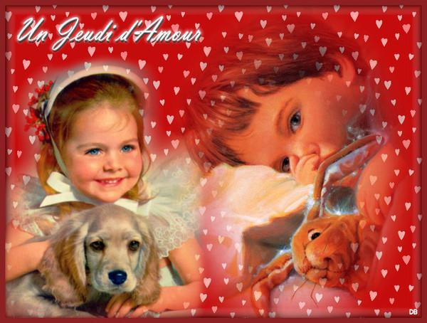 Un Jeudi d'Amour - enfants : kdo pour vous
