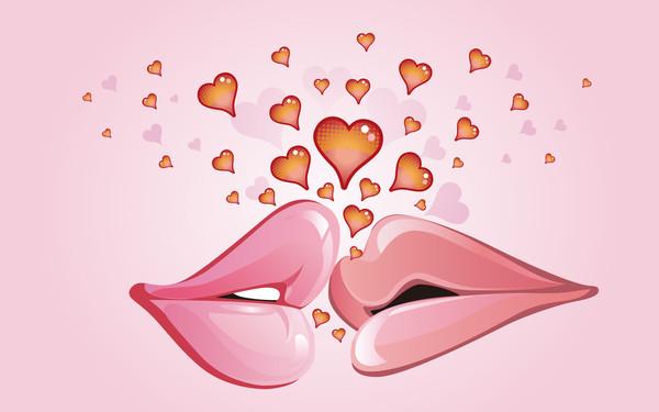 image amour fond d'ecran