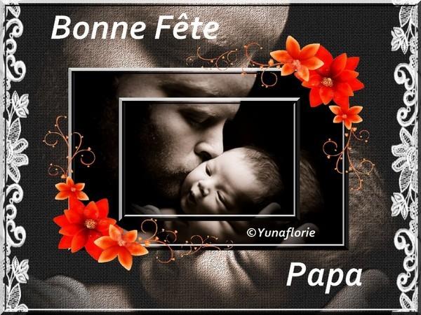 Bonne fête des pères  : créa de mon amie Céline