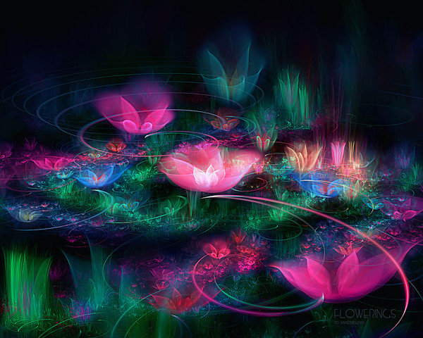 flower wallpapers widescreen space - photo #4