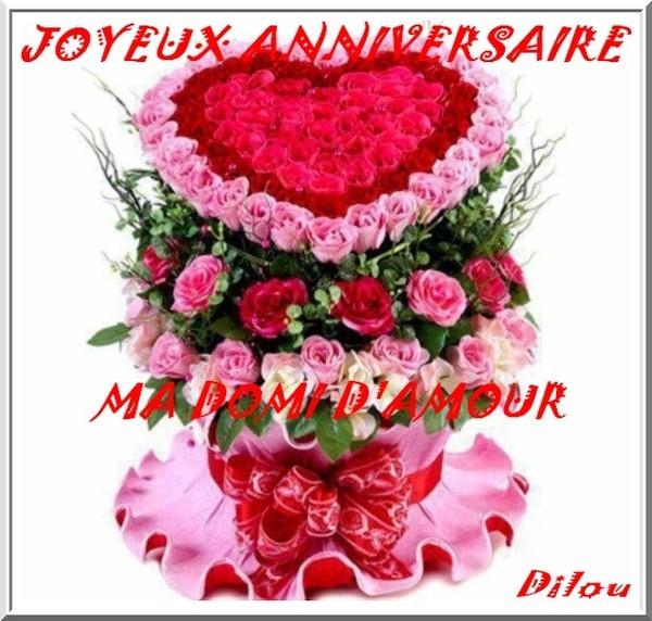 Cadeau Pour Mon Anniversaire De Ma Dilou D Amour