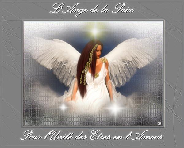 L'Ange de la Paix - Pour l'Unité des Etres en l'Amour
