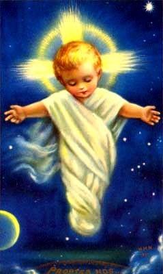L'Enfant Jésus prie à vos intentions de prières