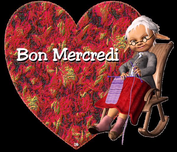 Bon Mercredi - coeur - elfe grand-mère : kdo