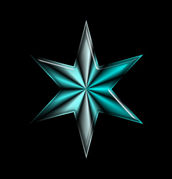 étoile bleue noël