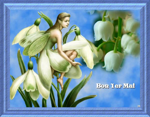 Bon 1er mai - kdo porte-bonheur pour vous