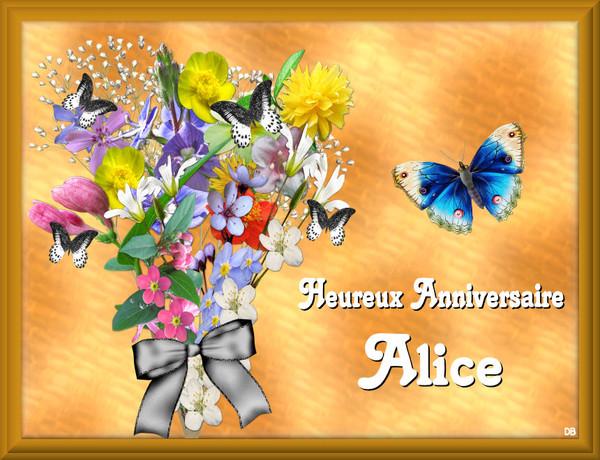 Heureux anniversaire Alice