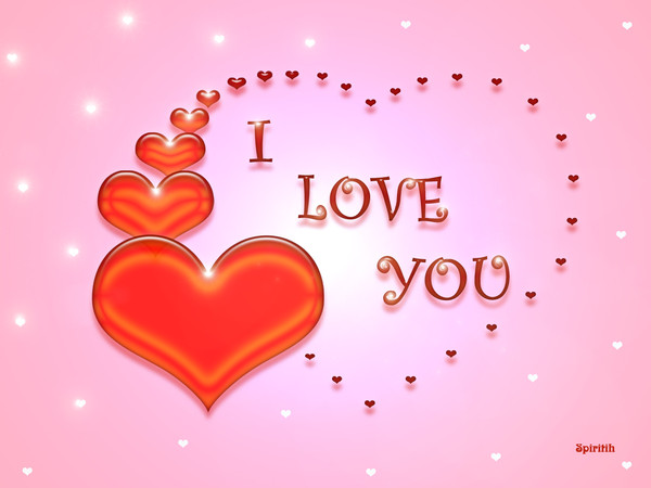 L Love You Wallpapers : coeurs - I love you : wallpaper, fond d ?cran, image, photo,