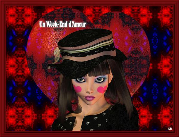 Un Week-End d'Amour - coeur : kdo pour vous