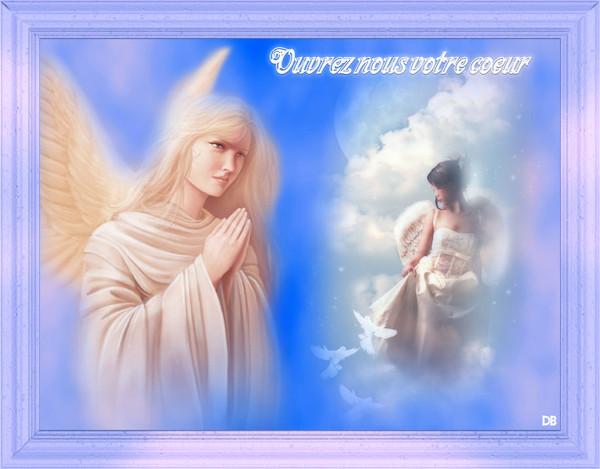 Les Anges : Ouvrez nous votre coeur : kdo