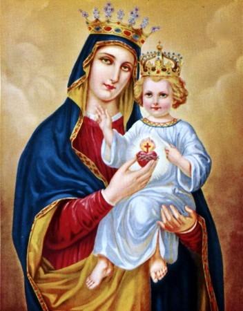 La Vierge-Marie et Jésus prient à vos intentions de prières