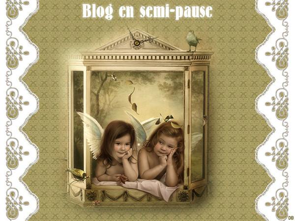 Blog en semi-pause pour une durée indéterminée