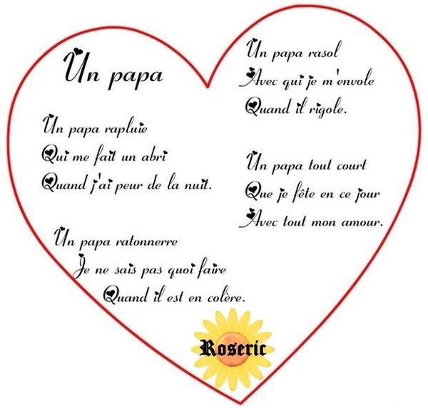 Images pour blog coeurs page 35 - Poeme fete des papa a imprimer ...