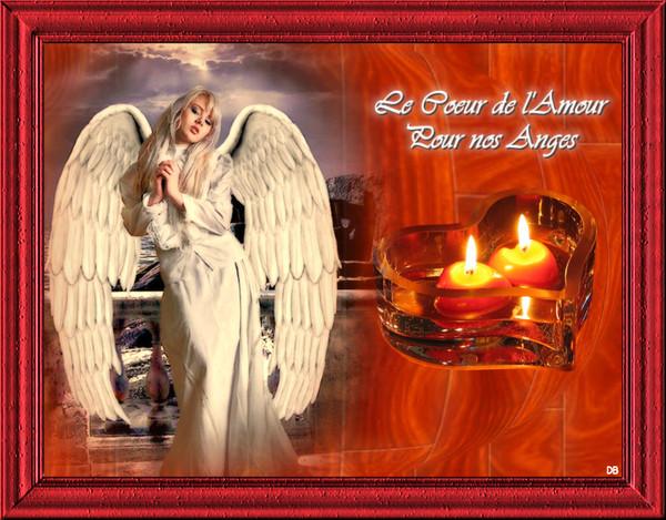 Le Coeur de l'Amour pour nos Anges - Toussaint : kdo