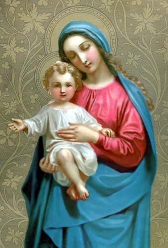 741ed2bba7f60 La Vierge-Marie et l enfant Jésus