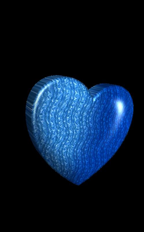 Coeur bleu tube png : kdo pour vous