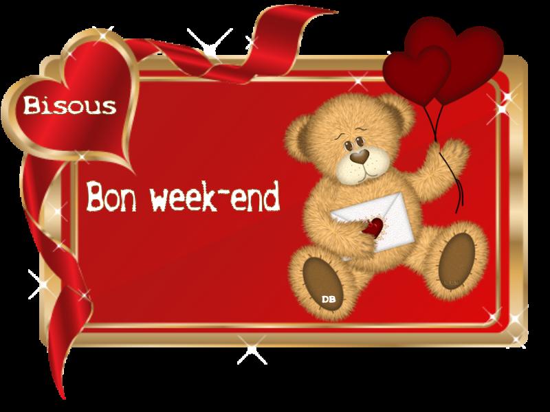 Bon Week End Bisous Kdo Pour Vous